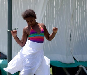 Star Gazing: Sasha Obama Has Fun in the Sun