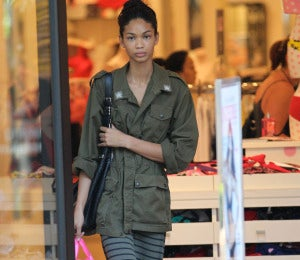 Star Gazing: Chanel Iman is Laid-Back and Chic
