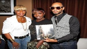 Star Gazing: Mary J. Blige, Estelle Support Swizz's Art