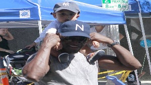 Star Gazing: Taye Diggs' Daddy Time with Son, Walker