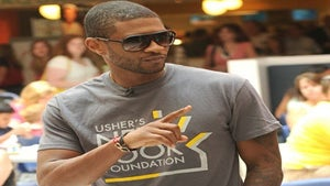 Star Gazing: Usher Takes Teens for a Spin