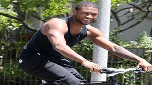 Star Gazing: Usher Takes a Bike Ride