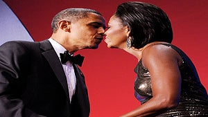 First Lady Diary: The Obamas' Presidential Kiss