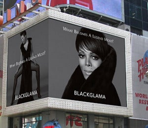 Janet Jackson's Blackglama Ad Takes On Times Square