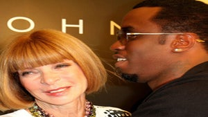 Star Gazing: Anna Wintour and Sean Combs Hug