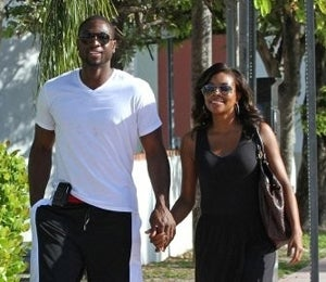 Star Gazing: D. Wade and Gabrielle Take a Sunny Stroll
