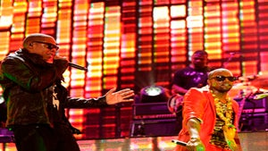 Star Gazing: Jay-Z, Kanye and Nicki Minaj Rock the Mic