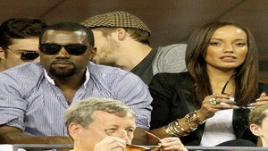 Star Gazing: Kanye and Selita Ebanks, Just Friends?