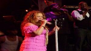 Coffee Talk: Mariah Carey Takes a Tumble on Stage