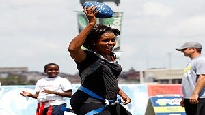 First Lady Teams with NFL to Get Kids Moving