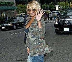 Star Gazing: Mary J. Blige's Fierce Fall Fashion