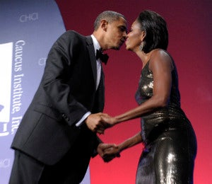 Presidential PDA: First Couple's Sweetest Kisses