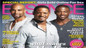 Boris, Blair and Lance on October Cover of ESSENCE