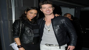 Star Gazing: Robin Thicke and Paula Patton in Leather