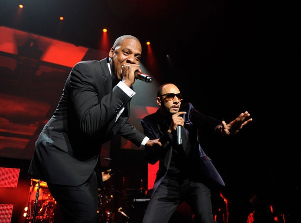 Jay Z and Swizz Beatz