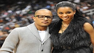 Star Gazing: T.I. and Ciara Catch up at ATL Hawks Game