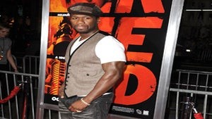 Star Gazing: 50 Cent Looks Sharp at 'Red' Premiere