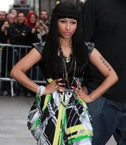 Star Gazing: Nicki Minaj Gets Chic on 'Letterman'
