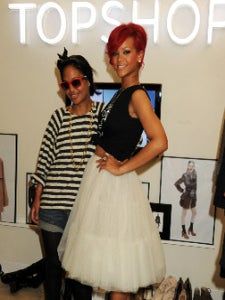 Star Gazing: Rihanna Plays Stylist for a Day
