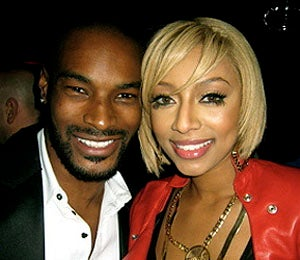 Star Gazing: Tyson Beckford and Keri Hilson Party It Up
