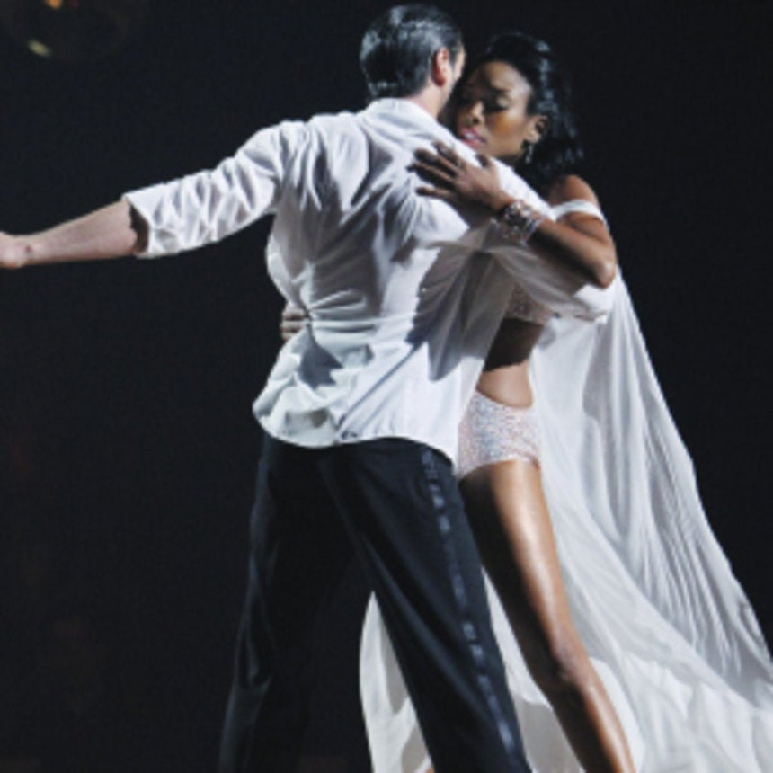 'DWTS': Brandy on Date with Maksim and Rumba Dance