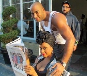 Star Gazing: Chrisette and Miguel Shoot 'I'm a Star'