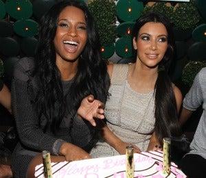Coffee Talk: Kim Kardashian Throws Ciara Bday Bash