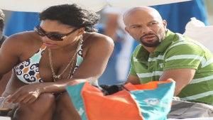 Star Gazing: Serena Williams and Common in Miami
