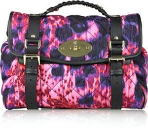 Daily Dose: Alexa Quilted Denim Bag by Mulberry