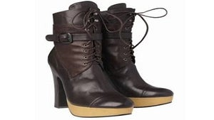 Daily Dose: Platform Lace-Up Boots by The Gap