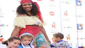 Star Gazing: Happy Halloween from Garcelle Beauvais
