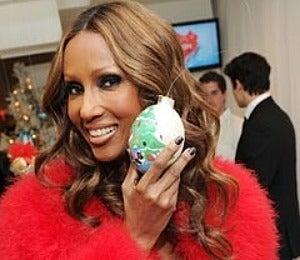 Blay Report: Iman Debuts Christmas Ornaments