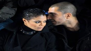 Star Gazing: Janet Jackson and Wissam in Paris
