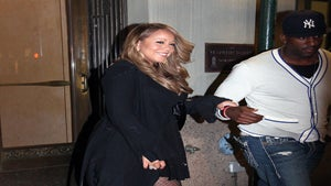 Star Gazing: Mariah Carey Steps Out for Hubby's B-day