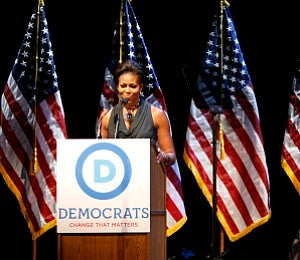 First Lady Diary: Michelle Obama Takes a Stand