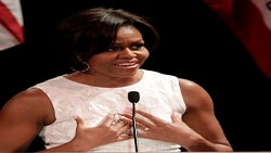First Lady Diary: Michelle Obama Rocks the Vote