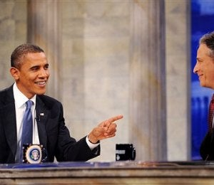 Pres. Obama Talks Jobs and Healthcare on 'Daily Show'