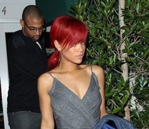 Star Gazing: Rihanna and Matt, Dining in Santa Monica