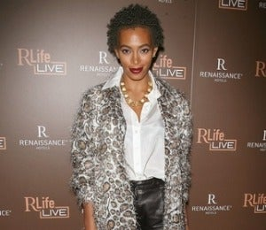 Star Gazing: Solange at the RLife Live Launch