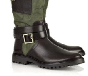 Daily Dose: Buckled Leather Boots by Tory Burch
