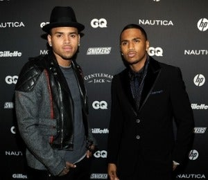 Star Gazing: C. Brown and Trey Songz in Boys' Night Out