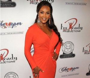Star Gazing: Vivica A. Fox, Lady in Red