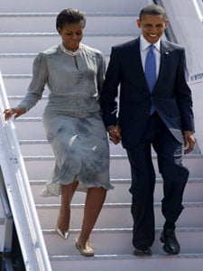 Obama Watch: The First Couple Arrives in Mumbai