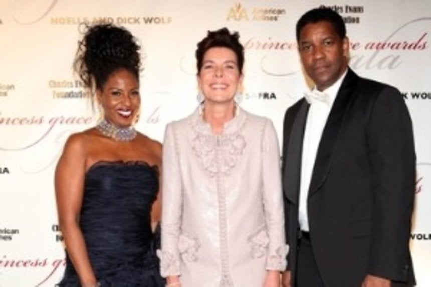 Star Gazing: Pauletta and Denzel Washington Get Fancy - Essence