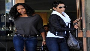 Star Gazing: Garcelle and Halle's Power Lunch