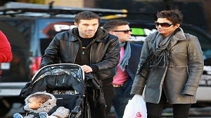 Star Gazing: Halle and Olivier Take a Stroll