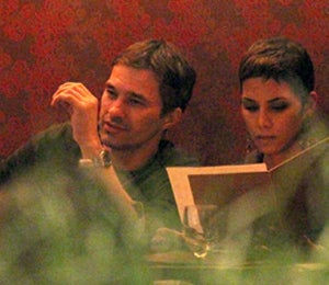Star Gazing: Halle and Olivier's Romantic Date Night