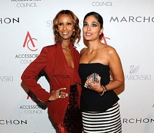 Star Gazing: Iman and Rachel Roy at the ACE Awards