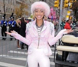 Star Gazing: Keri Hilson at Thanksgiving Day Parade