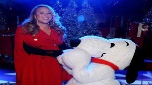Mariah Carey Sings to Her Baby Bump